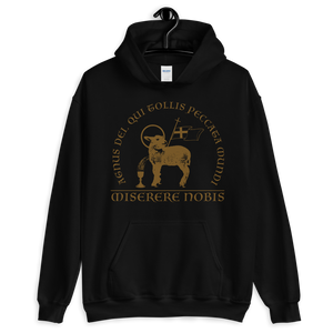 Lamb of God Hooded Sweatshirt - Sanctus Supply Co.