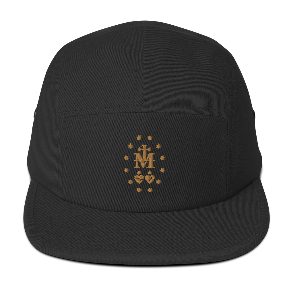 Mary Five Panel Cap - Sanctus Fidelis