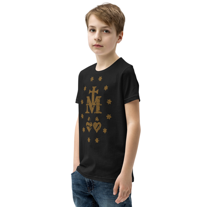 Miraculous Medal Kids Tee - Sanctus Supply Co.
