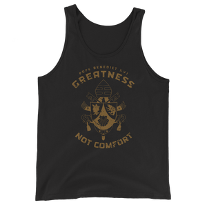 Pope Benedict XVI Tank Top - Sanctus Supply Co.