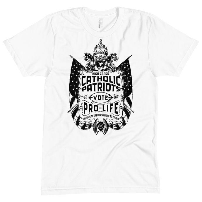 Catholic Patriots Vote Pre-Life (The Black & White Collection) - Sanctus Fidelis