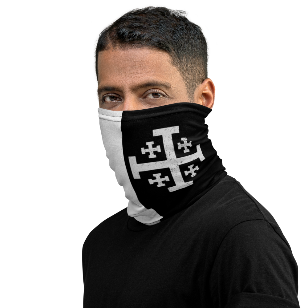 Jerusalem Knight Face Covering - Sanctus Supply Co.