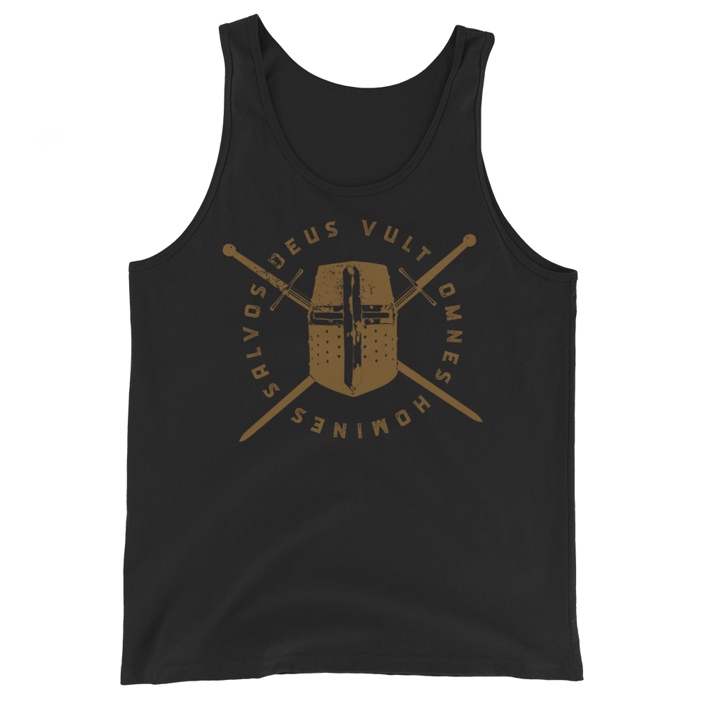 Knight's Helm Tank Top - Sanctus Supply Co.