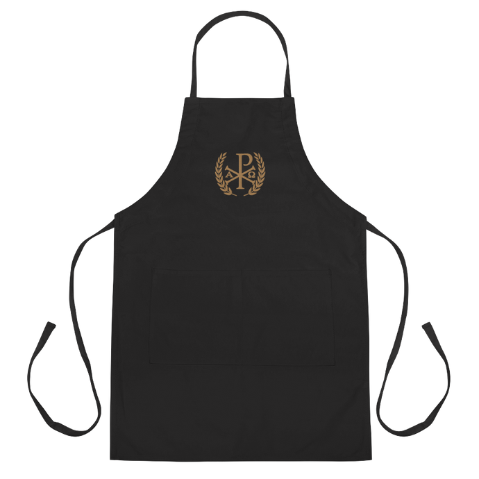 Chi Rho Victory Apron - Sanctus Supply Co.