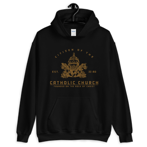 Catholic Citizen Hooded Sweatshirt - Sanctus Fidelis