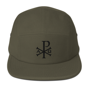 Chi Rho Five Panel Cap - Sanctus Supply Co.