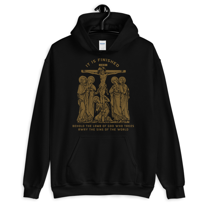 It Is Finished Hoodie - Sanctus Fidelis