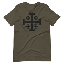 Load image into Gallery viewer, Jerusalem Cross Crew Neck - Sanctus Supply Co.