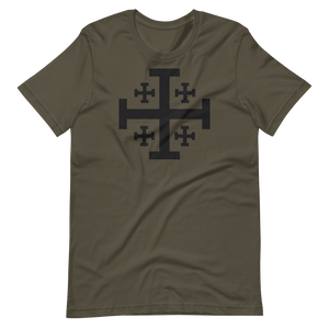 Jerusalem Cross Crew Neck - Sanctus Fidelis