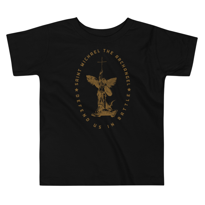 Toddler St. Michael Tee - Sanctus Supply Co.