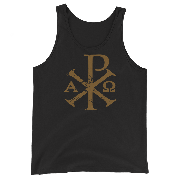 Chi Rho Tank Top - Sanctus Supply Co.