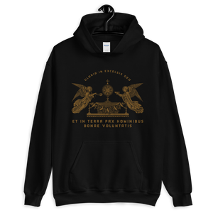 Gloria! Hooded Sweatshirt - Sanctus Supply Co.
