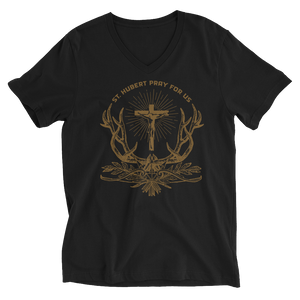 Patron of Huntsmen V-Neck - Sanctus Fidelis