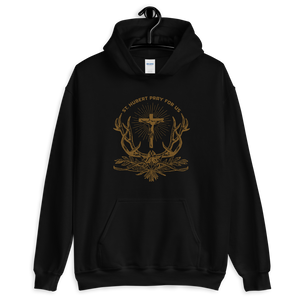 Patron of Huntsmen Hoodie - Sanctus Supply Co.