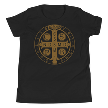 Load image into Gallery viewer, St. Benedict Kids Tee - Sanctus Supply Co.