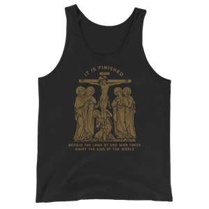 It Is Finished Tank Top - Sanctus Supply Co.