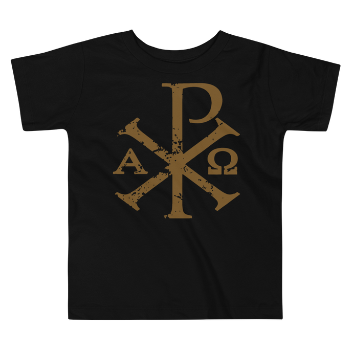 Toddler Chi Rho Tee - Sanctus Supply Co.