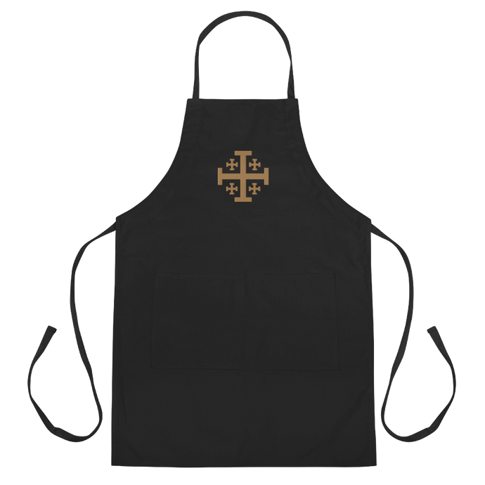 Jerusalem Cross Apron - Sanctus Supply Co.