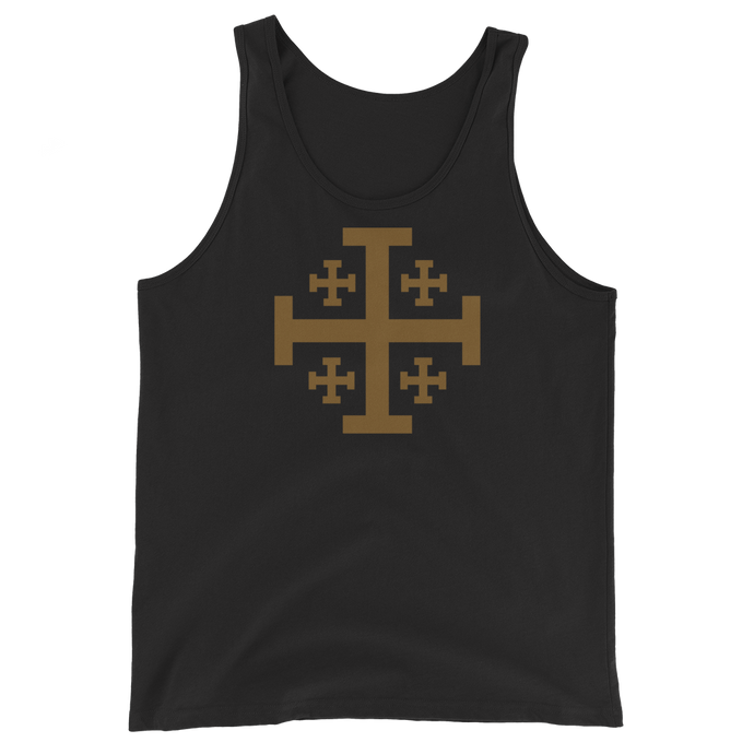Jerusalem Cross Tank Top - Sanctus Supply Co.