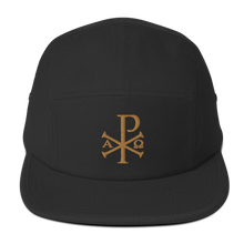 Load image into Gallery viewer, Chi Rho Five Panel Cap - Sanctus Fidelis