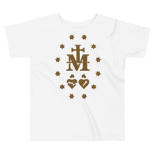 Load image into Gallery viewer, Toddler Miraculous Medal Tee - Sanctus Fidelis
