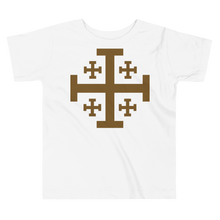 Load image into Gallery viewer, Toddler Jerusalem Cross Tee - Sanctus Supply Co.