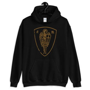 St. Michael 2 Hoodie - Sanctus Supply Co.