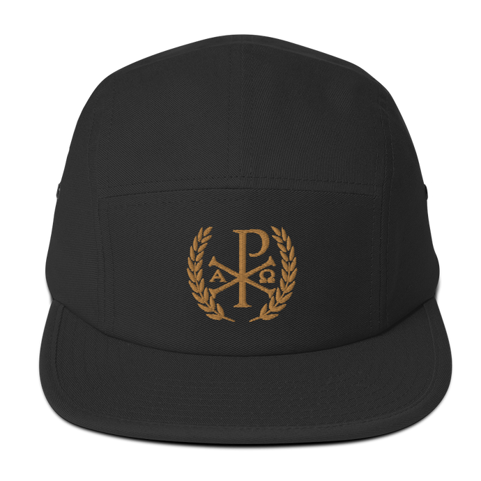 Chi Rho Victory Five Panel Cap - Sanctus Fidelis