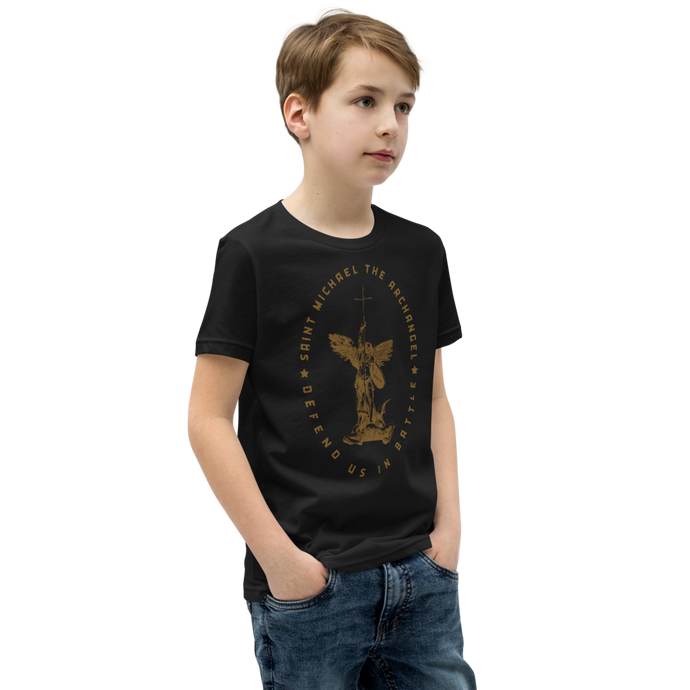 St. Michael Kids Tee - Sanctus Supply Co.