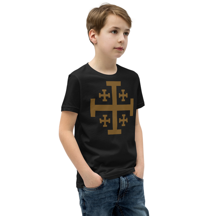 Jerusalem Cross Kids Tee - Sanctus Supply Co.