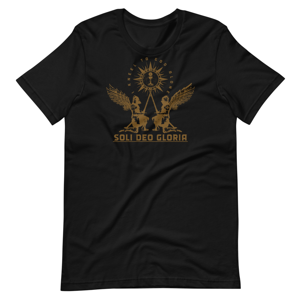 Soli Deo Gloria T-Shirt - Sanctus Supply Co.