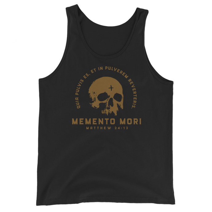Memento Mori 2 Tank Top - Sanctus Supply Co.