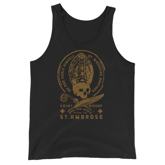 St. Ambrose Tank Top - Sanctus Supply Co.