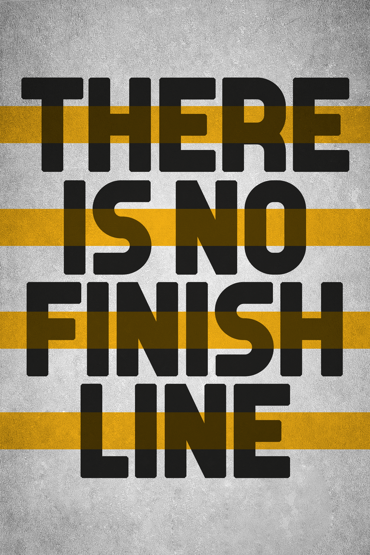 no finish line - yellow