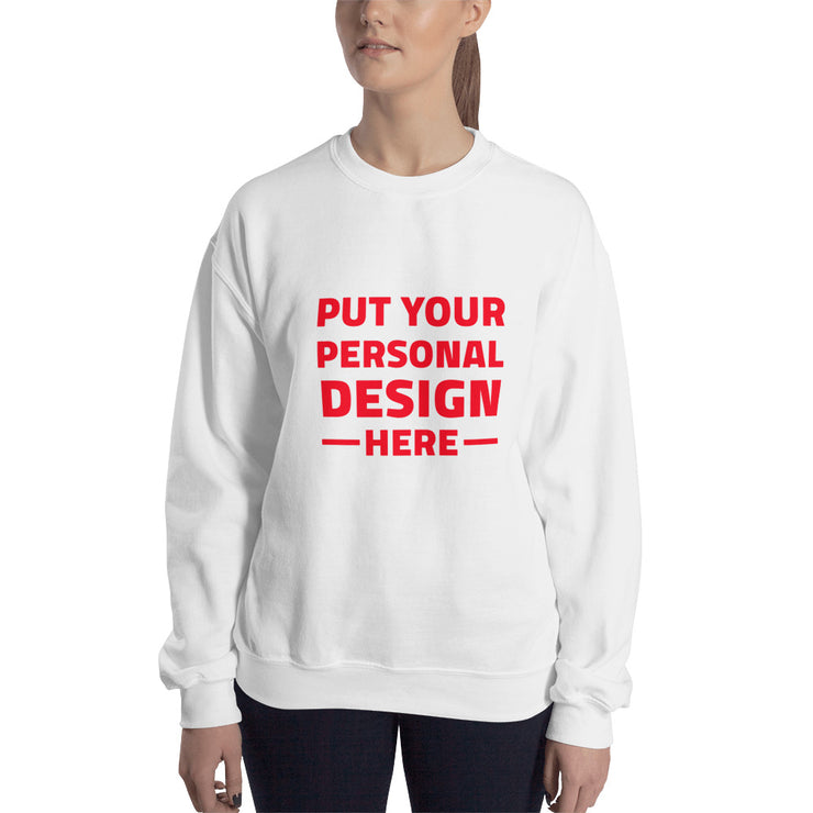 make your own sweatshirt - women