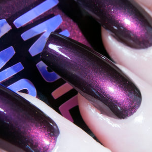 BuzzKill - velvet grape nail polish vegan