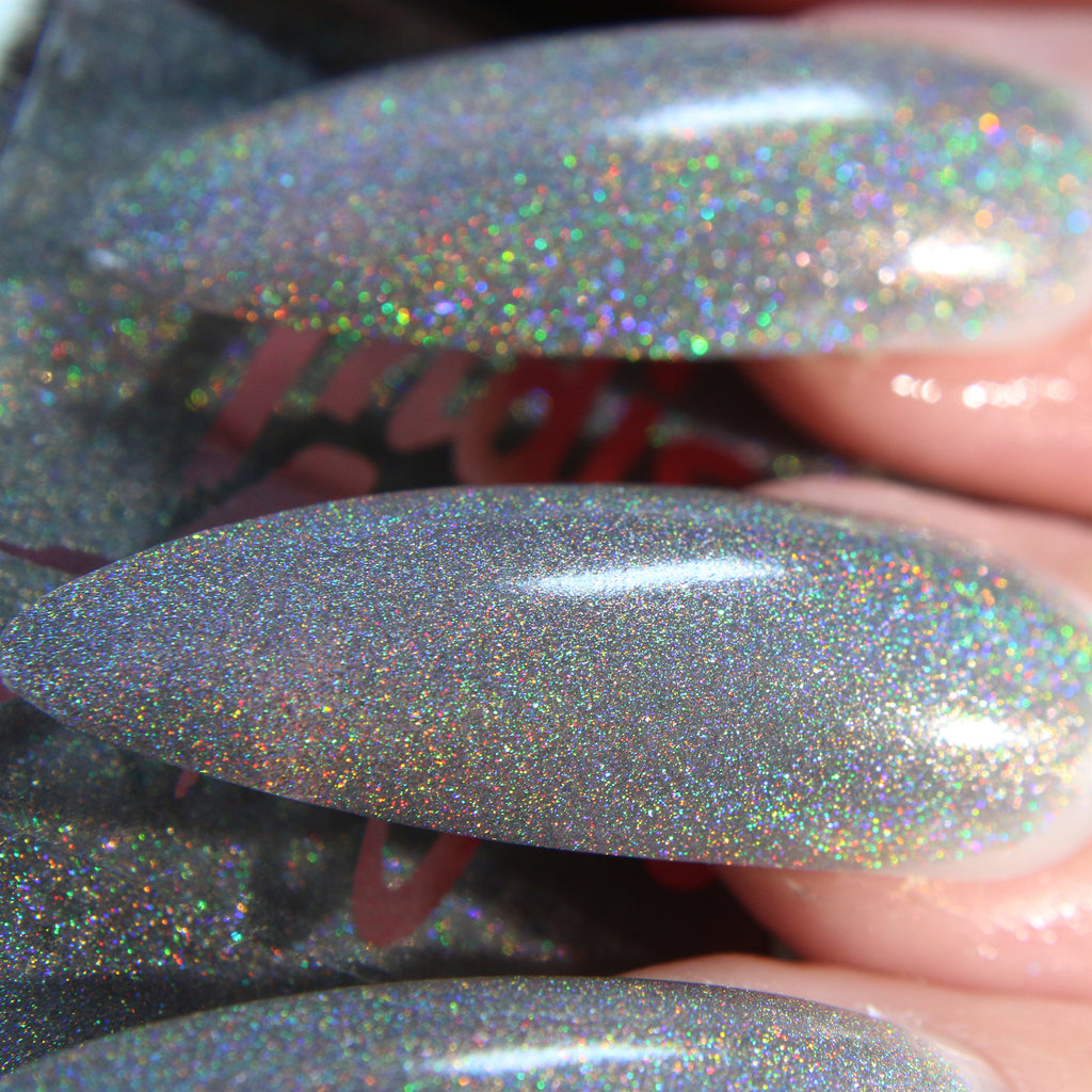 Disco Queen - pure holographic glitter nail polish vegan