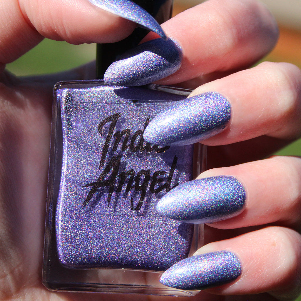 Sweetie Pie - lilac holographic nail polish vegan