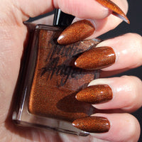 Scary Spice - pumpkin spice nail polish thanksgiving vegan