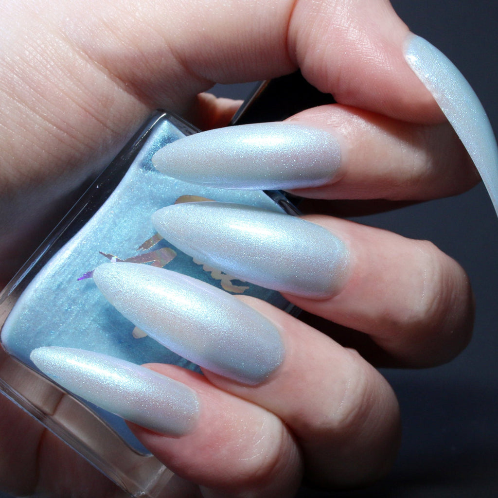 Ghost 78 - sheer blue to purple solar nail polish vegan
