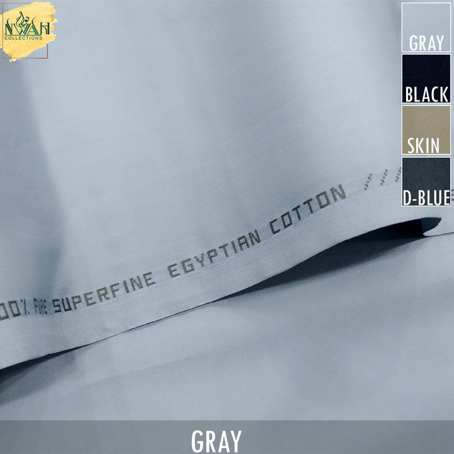 soft egyption cotton NWAH Collections brand unstitch fabric for men