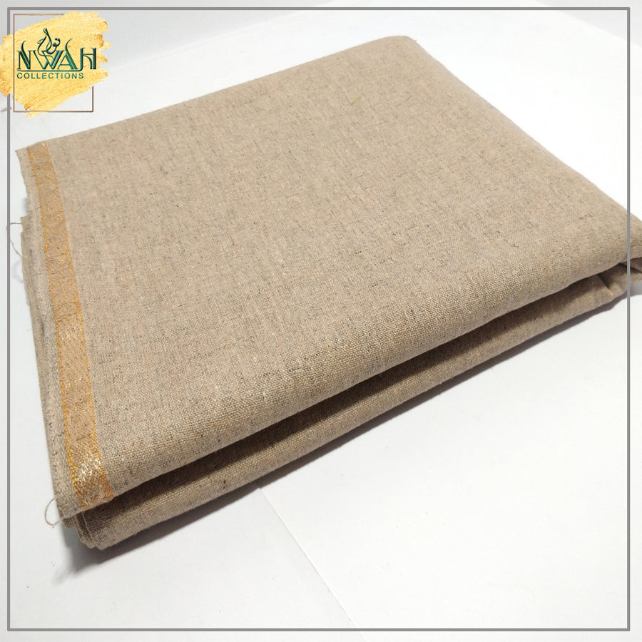 branded wool unstitch fabric for men