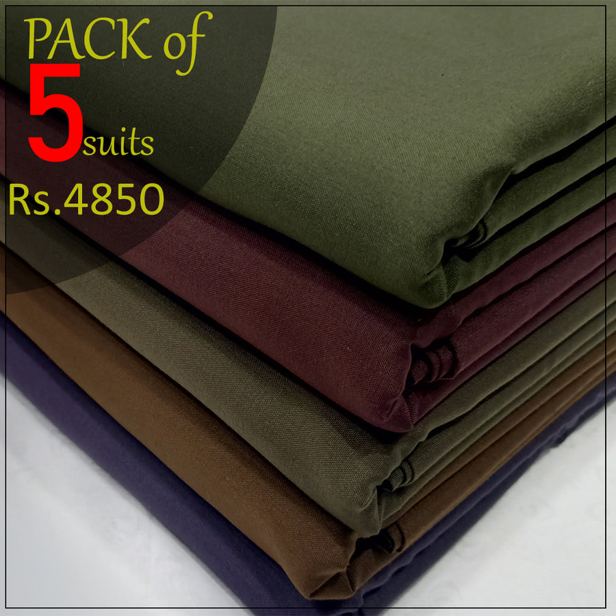 pack of 5suits