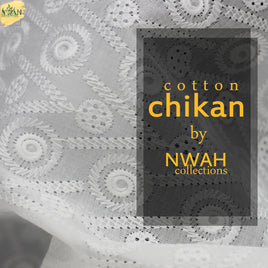 cotton chikan by nwah collections unstitch fabric for men