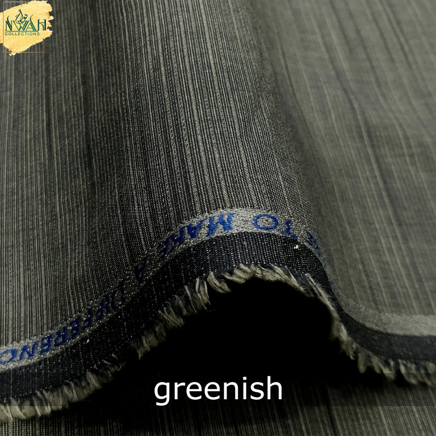 soft wash&wear by G-race brand unstitch fabric for men