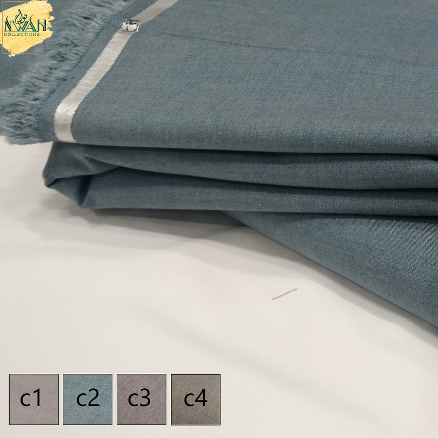 soft wash&wear ja-nu brand unstitch fabric for men