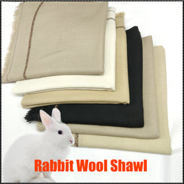 Rabit wool shawl