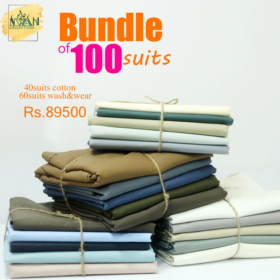Bundle of 100suits