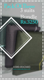 Bundle of three-Wool Fabric RS/-3250