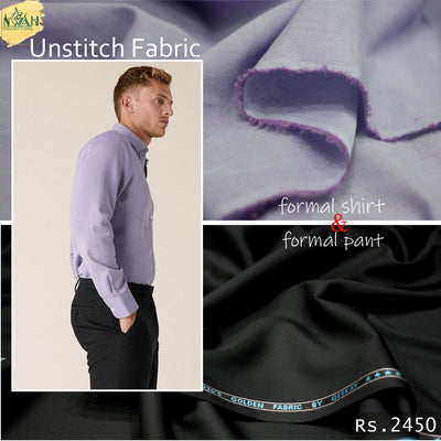 formal pant&shirt unstitch fabric for men